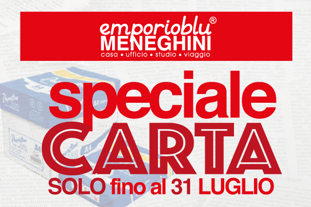 Speciale carta A4 Luglio