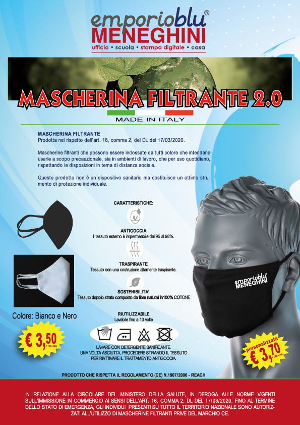 mascherine filtranti